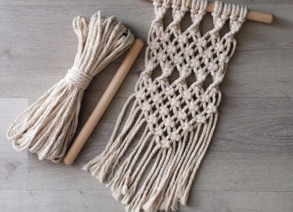 Aster & Vine - Small Macrame Hanging Kit