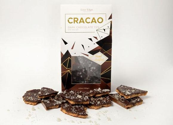 Cracao Live Edge Chocolate - Dark Chocolate