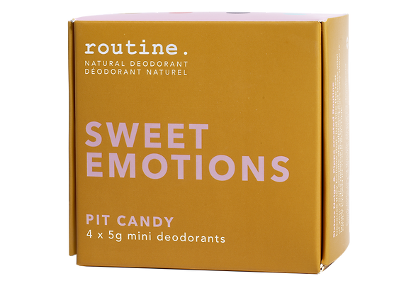 Routine - Sweet Emotions Mini Kit (4x5g)