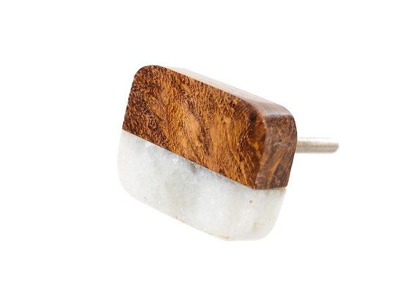 Marble Slice Knob - Furniture Hardware