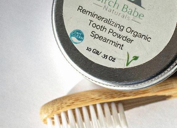 Birch Babe Naturals - Tooth Powder -Spearmint