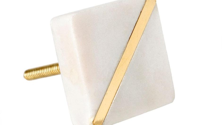 Marble Gild Knob - Furniture Hardware