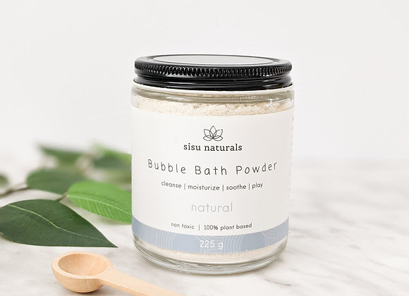 Sisu Naturals - Bubble Bath Powder - Natural