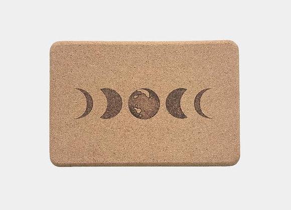 Scoria - Moon Cork Yoga Block