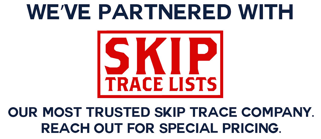 We've Partnered With Skip Trace Lists-01