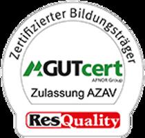 Symbol Zertifizierung AZAV