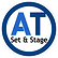A T Set & Stage Logo, Set and Stage, A T Set and Stage, Stage Sets, Conference Sets, Theatre Sets, Exhibition Stands, Props, Stage Props, Sets, Exhibitions, Conference, Conferences, Screens, Projection Screens, Stage, Staging,