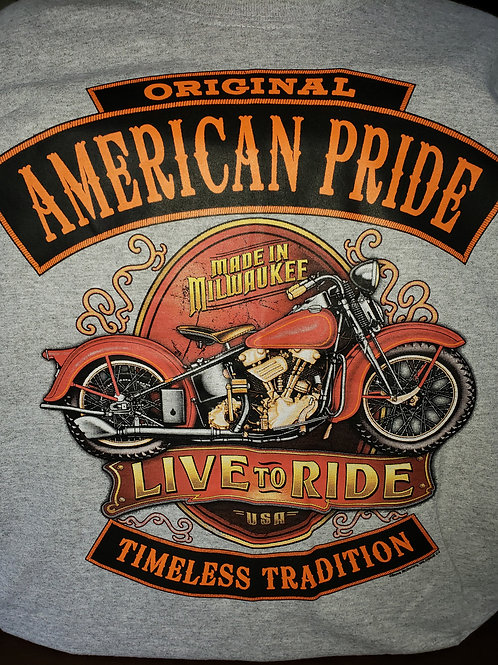 "American Pride ""Live to Ride"""