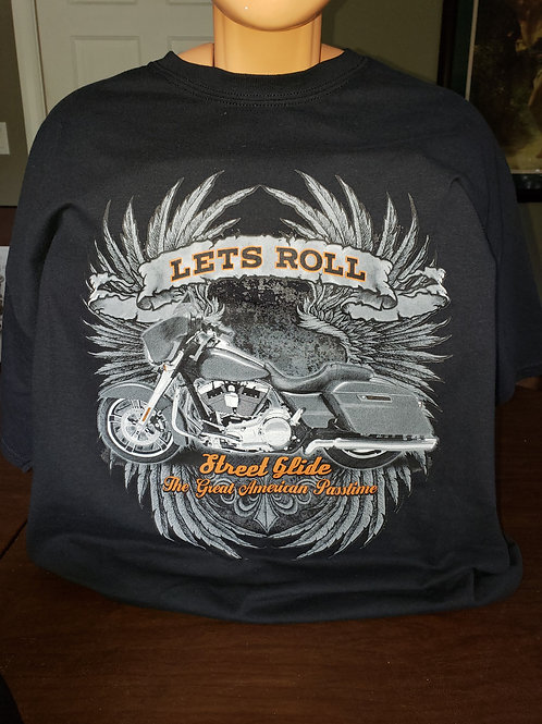 "Streetglide ""Let's Roll"""