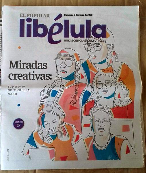Periódico El Popular 8 marzo 2020
