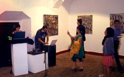 En el museo Santa Rosa