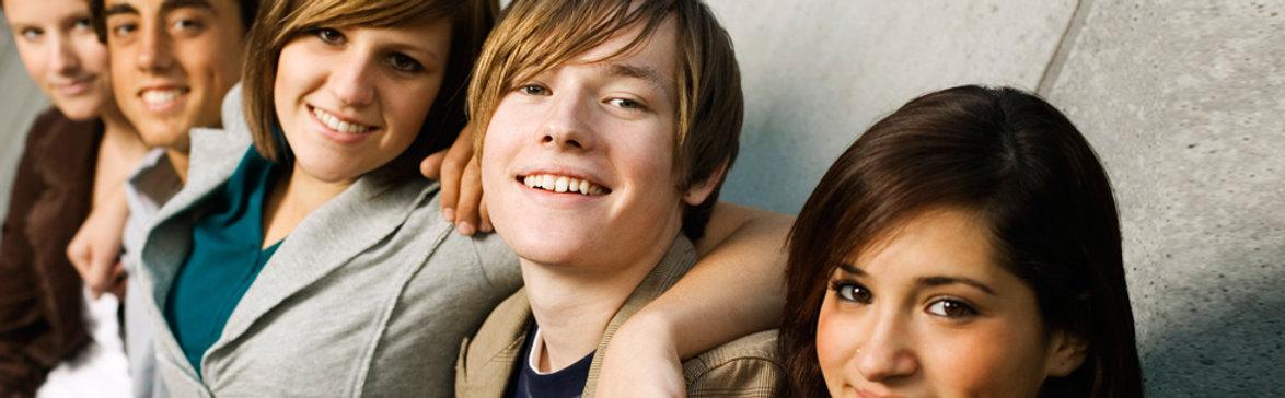 adolescent en groupe