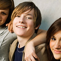 Groupe chez les adolescentes
