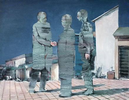 Paranormal-activity4-huile sur papier-65