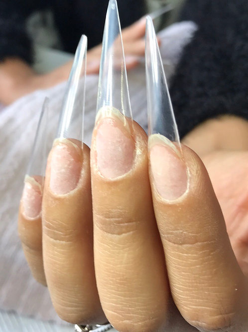 *Extra Long Stiletto Tips - (bag of 500)