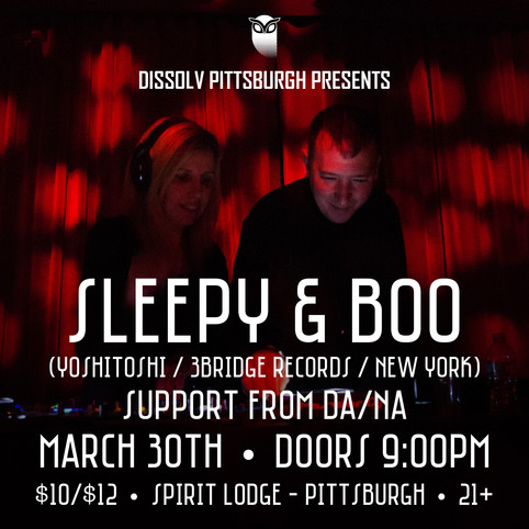 Sleepy & Boo @ Spirit Lodge Friday 3/30/17