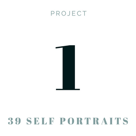 Project 1 - 39 Self Portraits