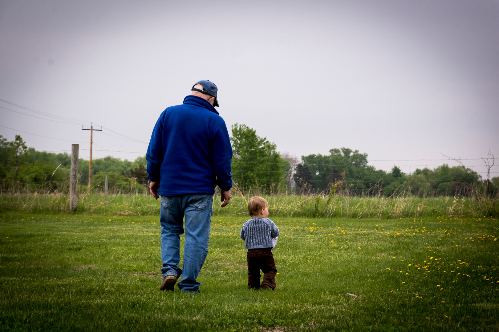 Walk with Grandpa