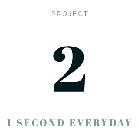 Project 2 - One Second Everyday