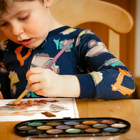 Painting with your Toddler