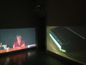 video art, davd schulz, steel sheets, tonenton, curating, anne sofie skjold møller,