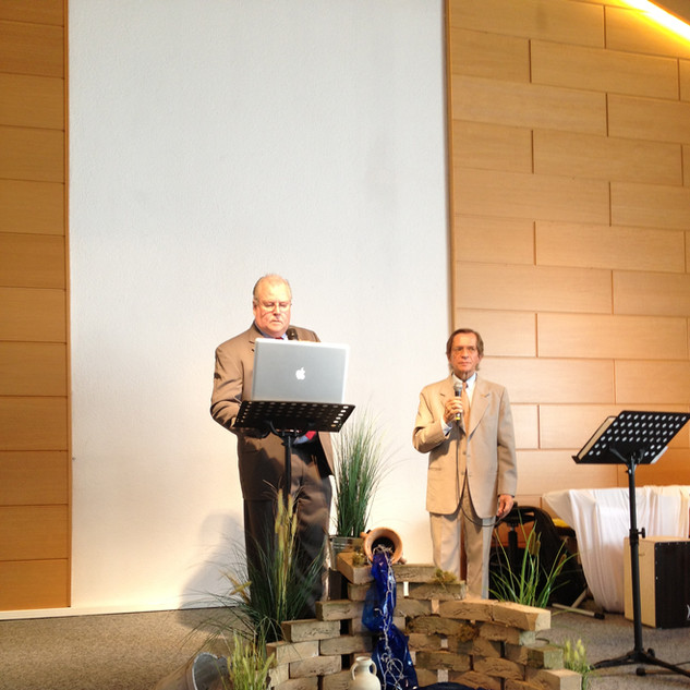 Ministering in Germany.