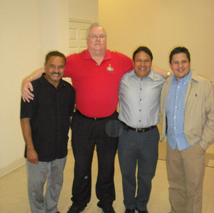 Mark with Carlos Rios.