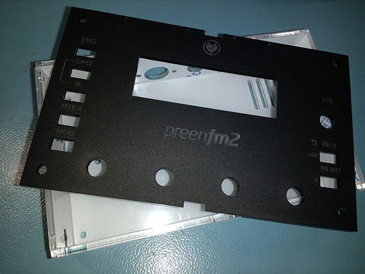 PreenFM2 acrylic case