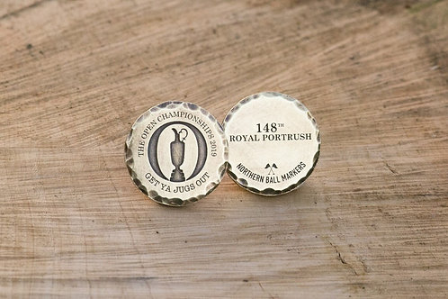 2019 Open Championship Marker // 32mm Brass