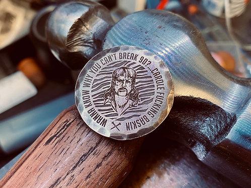 Tiger King Ball Marker // Brass