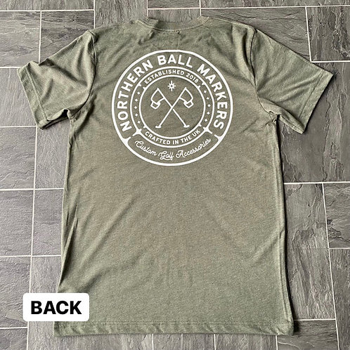 NBM T-shirt // Military Green