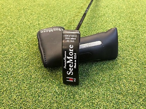 SeeMore M2 SS 303 Putter // 35""