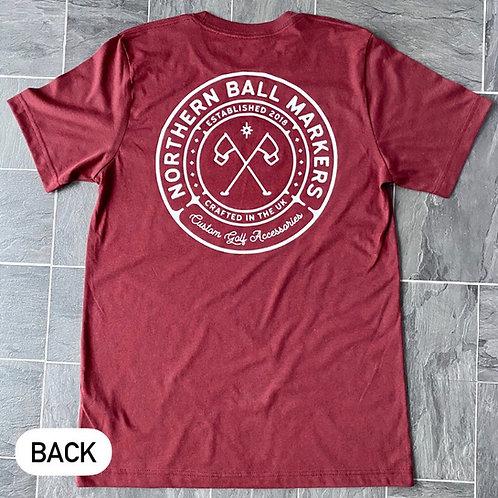 NBM T-shirt // Cardinal Red