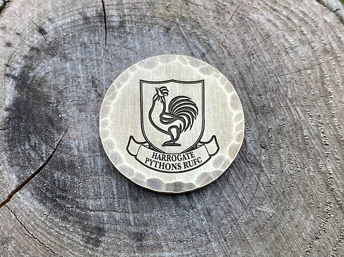 Harrogate Pythons Ball Marker // Brass