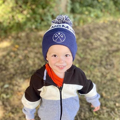 Junior NBM Bobble Hats // 3-8 years