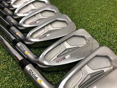 Ping S55 Irons 4-PW // Stiff