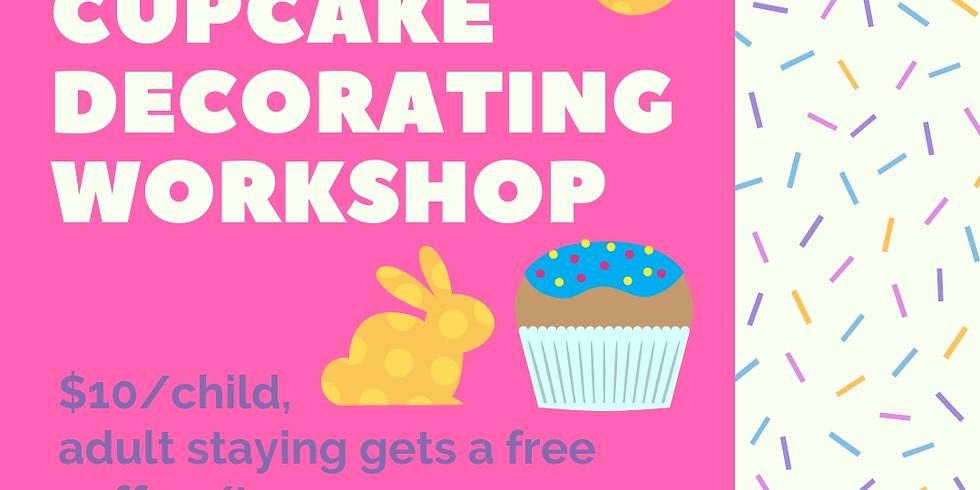 Easter Cupcake Decorating Workshops 24/4