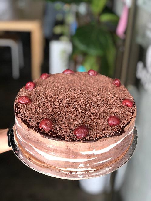 Black Forest crepe cake