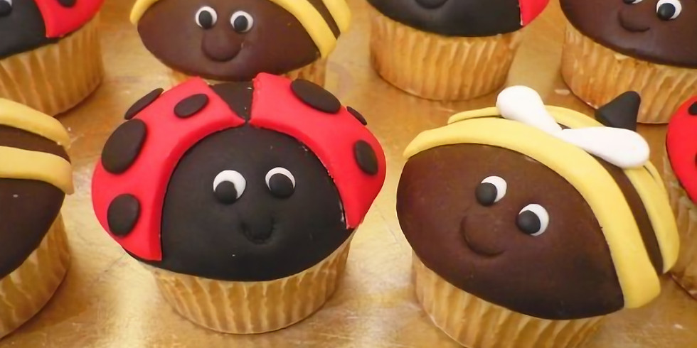 School Holiday - Ladybirds and Bumble Bees Cupcake Decorating  (3)