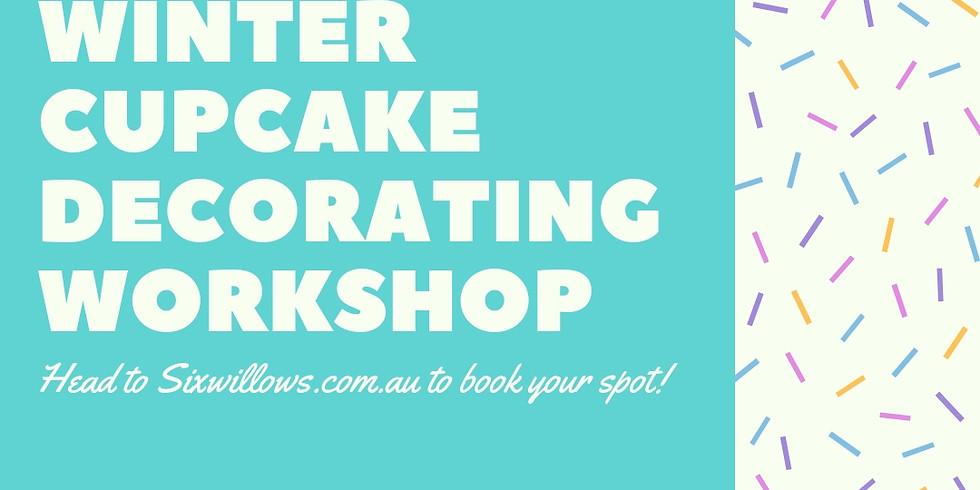 Winter School Holidays - Cupcake Decorating Workshop  (17/7)