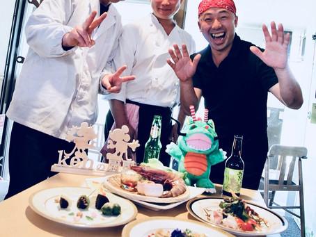 2018年2月 第一回ホストタウン料理教室(会場:Kenの厨房)