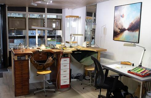 Atelier XG, bijouterie-joaillerie XG zone de réalisation et de dessin
