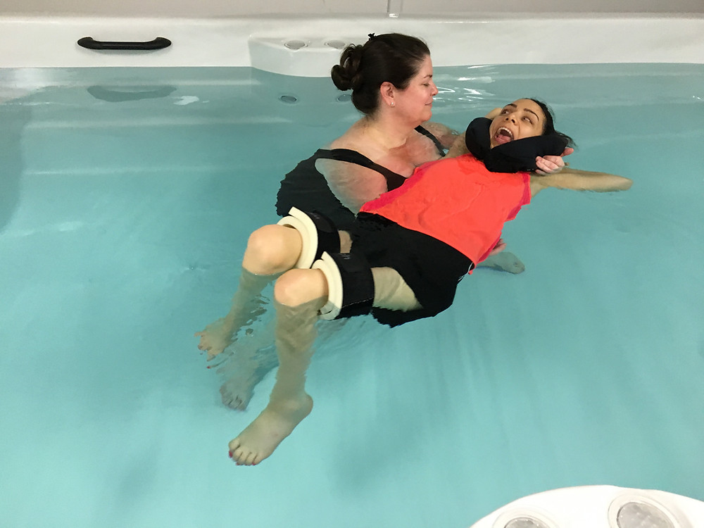 hydrotherapy session at Balance Physiotherapy