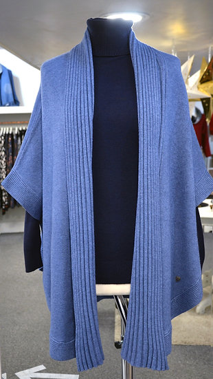 Short Sleeve Cape Cardigan - 2 Colours Available