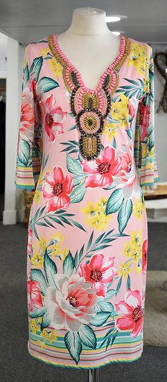 K-Design Pink Flower Print Dress