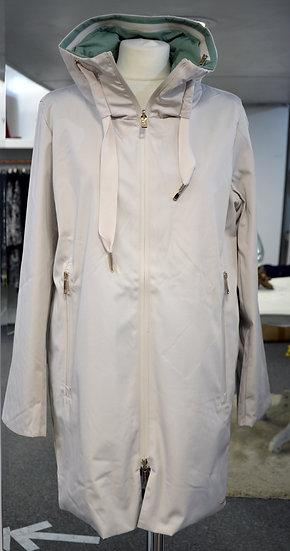 Rino & Pelle Off White/Mint Reversible Coat