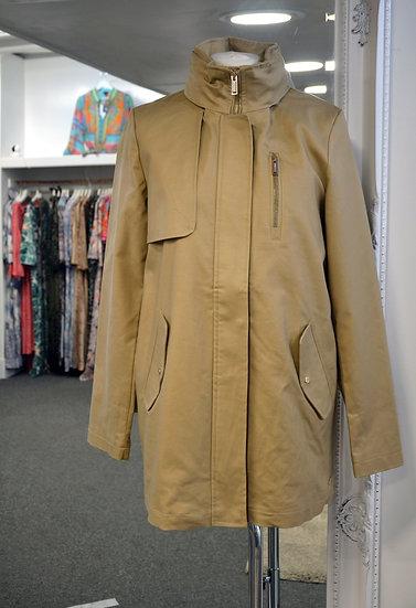 Rino & Pelle Tan Hooded Raincoat