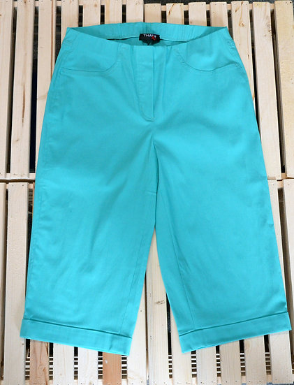 Thats Me Turquoise Longline Shorts