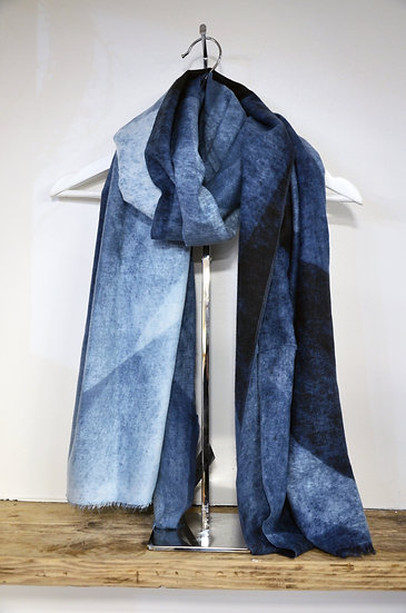 Blue & Yellow Scarves