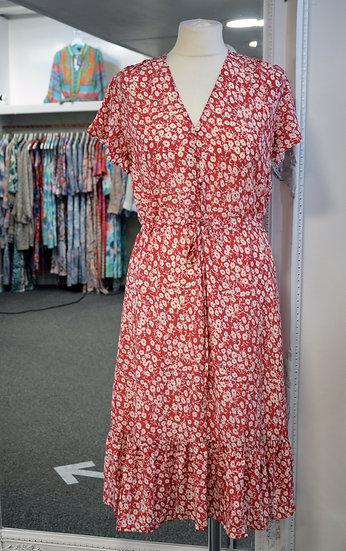 Rails - Kiki - Scarlet Camellia Midi Dress
